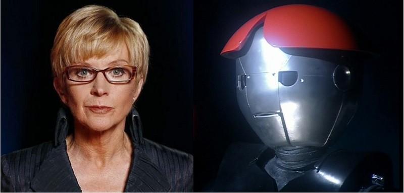 Anne Robinson as Droid Dr Who