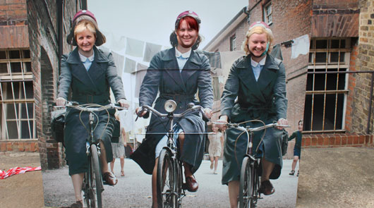 call the midwife tour - cycling through poplar