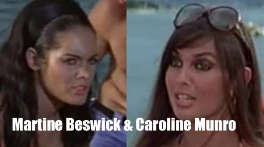 An Audience with Caroline Munro and Martine Beswick