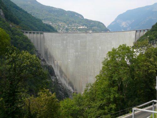 Contra Dam, an arch dam on the Verzasca River