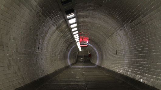Greenwich Tour of Film Locations - Foot Tunnel