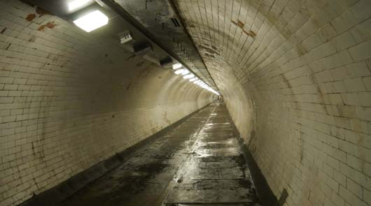 Greenwich Tour of Film Locations - Greenwich Foot Tunnel