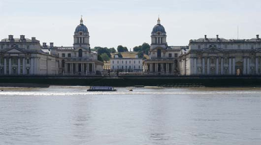 Greenwich Tour of Film Locations - ORNC from the North Bank