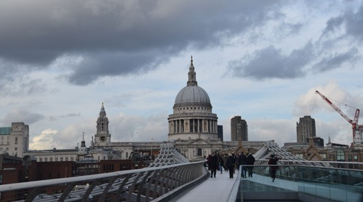 Harry Potter London Walk St Pauls Cathedral