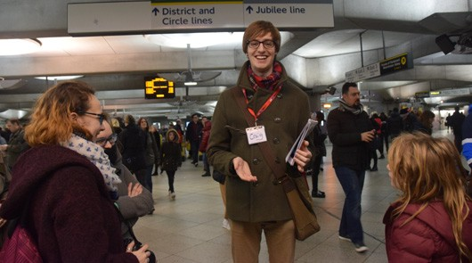 Harry Potter London Walk Westminster Station