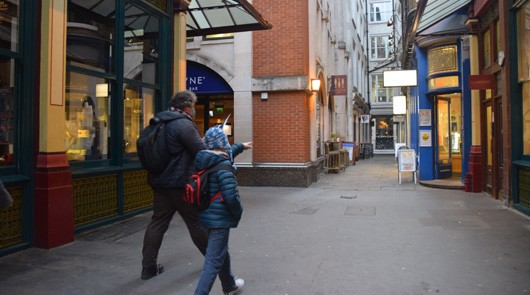 Harry Potter London Walk Leadenhall Market