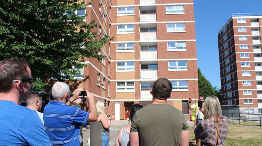 Only Fools and Horses Tour - Nelson Mandela House 2