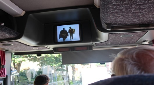 Only Fools and Horses Tour - Watch scenes on the coach