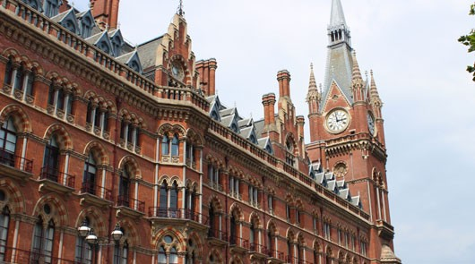 Harry Potter Film Locations - St Pancras Station