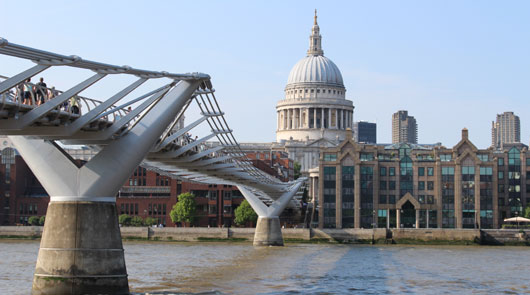 Harry Potter Film Locations - Millennium Bridge