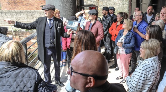 Peaky Blinders Tour Liverpool - Guide at Stanley Dock
