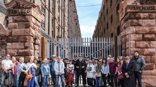Peaky Blinders Tour Liverpool - The Garrison location