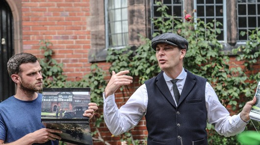 Peaky Blinders Tour Liverpool - Pollys house