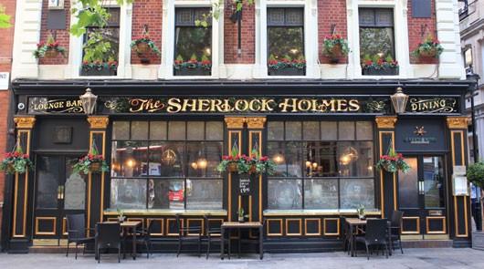 Sherlock Holmes London Tour - Sherlock Holmes Pub